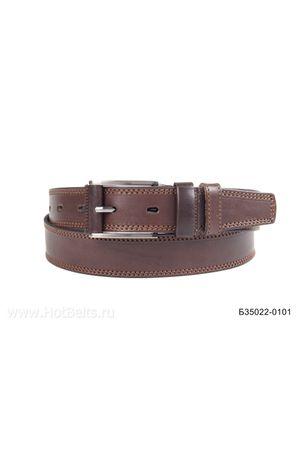 Б35 Оскар обт кожа коричневый Б35022-0101