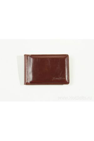 Зажим для денег YangFan 1003-1 коричневый