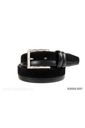 Б35 Оскар замша черный Б35202-0201