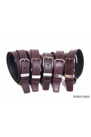 Б35 Оскар м/т кожа коричневый Б35021-0203