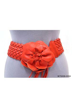 Ж70 (99) ВВ плетенка цветок красный Ж70008-0004