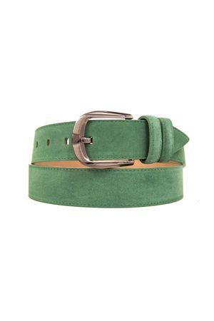 Д40(99) BT.Belt замша зеленый Д40093-0007