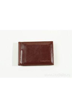 Зажим для денег YangFan 1004-2 бордовый