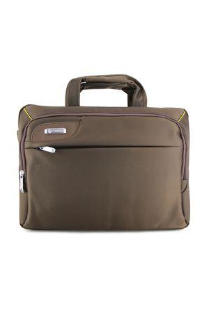 Сумка для ноутбука No name 6699 коричневая