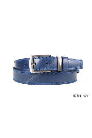 Б35 Оскар м/т кожа синий Б35021-0301