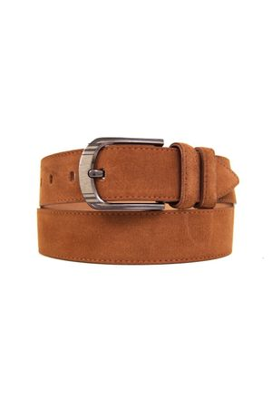 Д40(99) BT.Belt замша коричневый Д40093-0002
