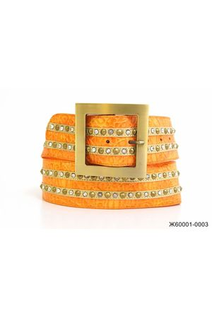 Ж60 ВВ Кулон G641/A817/A647 косой оранжевый Ж60001-0003