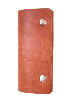 Ключница No name кожа коричневая 131061-0003