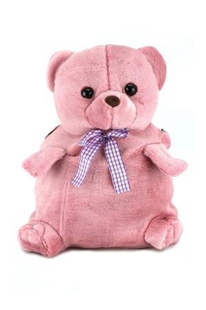 Рюкзак детский No name темно-розовый 150993-0008