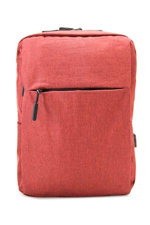 Рюкзак No name 1719# с USB красный