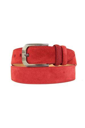 Д40(99) BT.Belt замша красный Д40093-0005