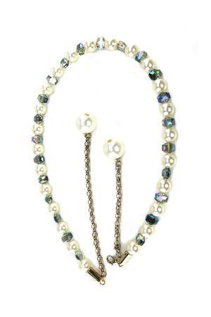 Ж15(99) ВВ цепь шар стекло белая 315020-0001