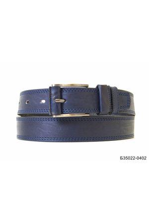 Б35 Оскар обт кожа синий Б35022-0402
