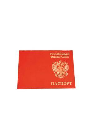 Обложка для паспорта HJ РФ красная