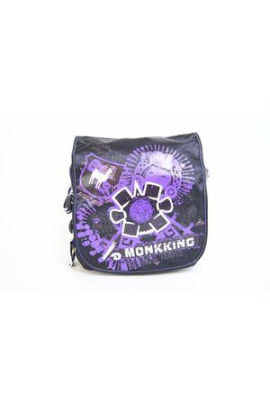 Сумка Monkking MK-C90603 черная/фиолетовая 1
