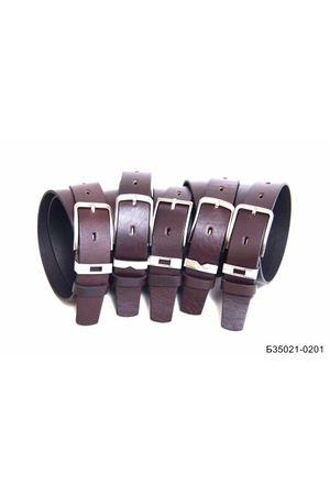 Б35 Оскар м/т кожа коричневый Б35021-0201