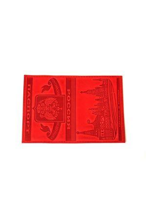 """Обложка для паспорта """"Кремль"""" красная"""