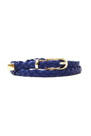 Ж10(93) ВВ мт плетенка темно-синяя 310003-0007