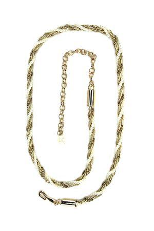 Ж10(99) No name цепь плетенка золотая 310005-0001