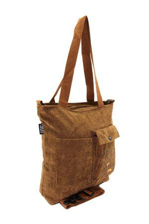 Сумка-шоппер No name W6798# коричневая