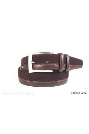 Б35 Оскар замша коричневый Б35202-0202