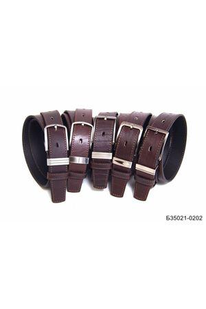 Б35 Оскар м/т кожа коричневый Б35021-0202